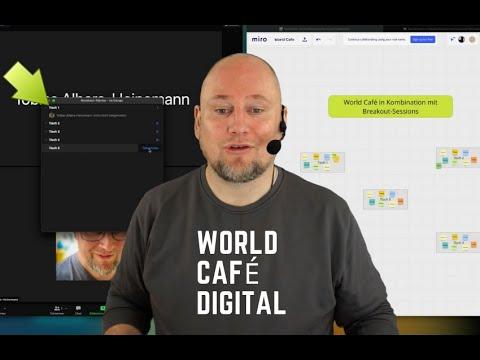 Ein digitales World Café mit Zoom und Miro technisch umsetzen