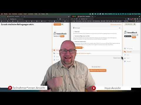 Chat, Umfrage und Feedback unter einer Haube mit Tweedback