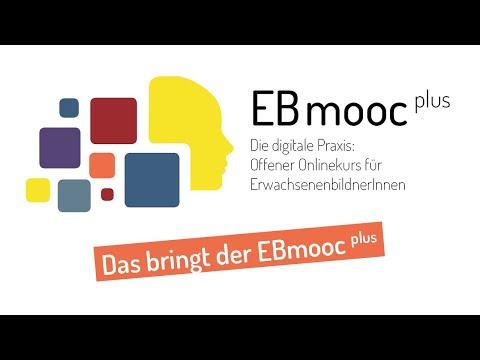 EBmooc plus 2020 - offener Onlinekurs für ErwachsenenbildnerInnen