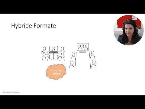 Live-Online-Formate mit Videokonferenztechnologien